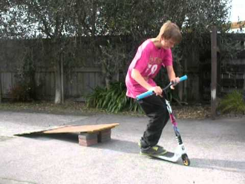 Home Made Scooter Ramp Youtube