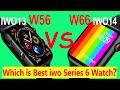 - Comparision: iwo13 W56 VS iwo14 W66 Smart watch Unboxing Review, Best iwo smartwatch 2020 / 2021