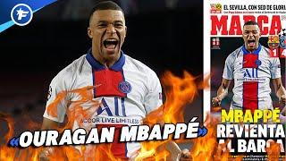 Toute la presse s'enflamme pour Kylian Mbappé et le PSG | Revue de presse