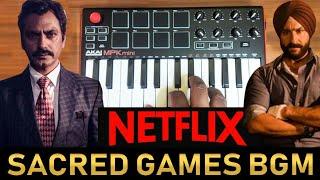 Netflix - Sacred Games Bgm Cover By Raj Bharath | Netfix Series