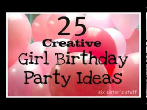 Decoration Ideas For An 18th Birthday Party