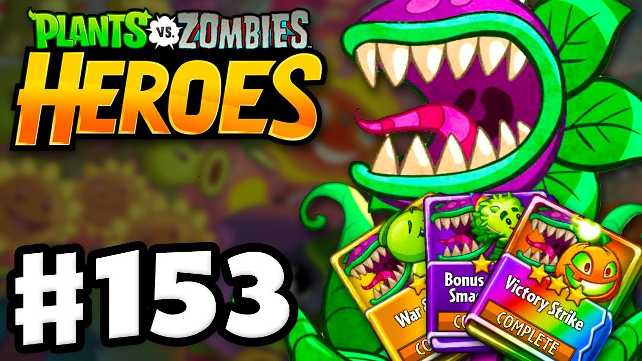 chompzilla-strategy-decks-puzzle-party-plants-vs-zombies-heroes-gameplay-walkthrough-part-153