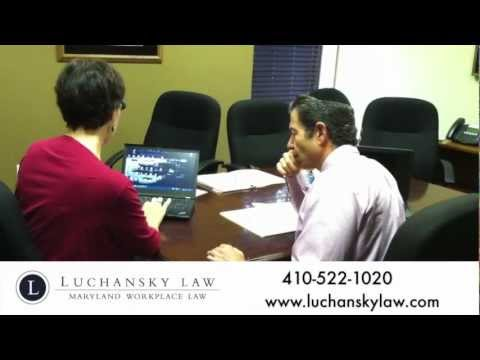 Maryland Employment Law Attorney Bruce Luchansky