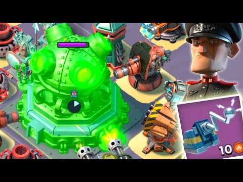 Boom Beach MEGA TURTLE Hack the HQ! Universal Remote the Core! (Stages 22-26)