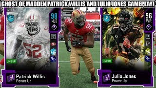 GHOST OF MADDEN PATRICK WILLIS AND JULIO JONES GAMEPLAY! | MADDEN 20 ULTIMATE TEAM