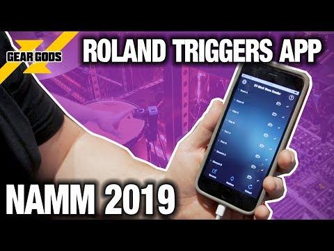 NAMM 2019 - New Drum Trigger APP From ROLAND | GEAR GODS