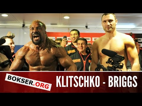 Weigh-in: Vitali Klitschko vs. Shannon Briggs