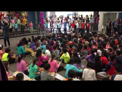 Heartbeat of the world at Stevens Creek Elementary 2017 - 1