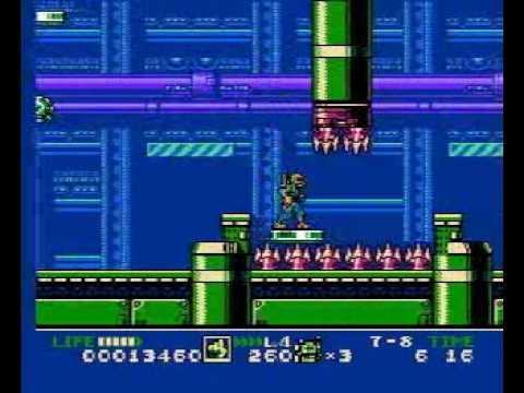 GI Joe - The Atlantis Factor NES Walkthrough (part 1/5)