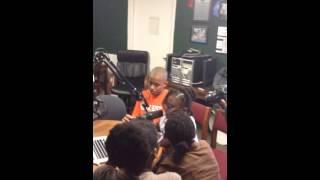 BEHIND THE SCENES Nov8 Radio Show 6