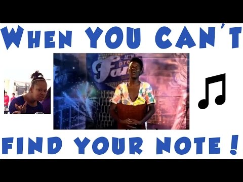When You Can't Find Your Note