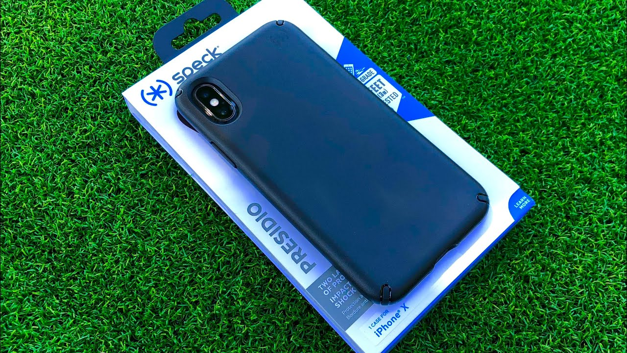 timeless design 2491d 41af7 Spek Presidio iPhone X Case Unboxing/Review
