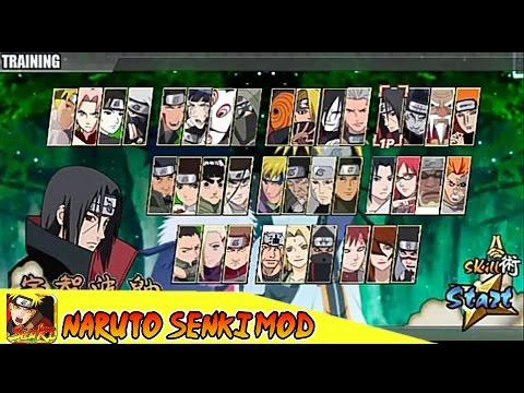 3 Karakter Ngamuk Naruto Senki Android