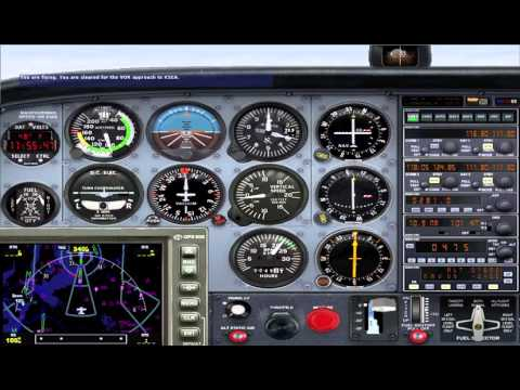 FSX LEARNING CENTER Instrument Pilot Instrument Rating Checkride (full automatic, no pause)