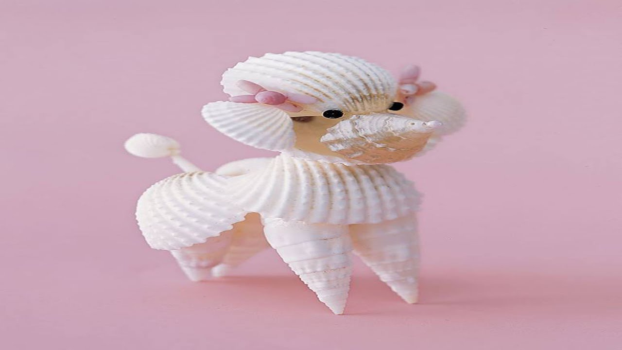Seashell craft project ideas diy youtube for Shell craft ideas