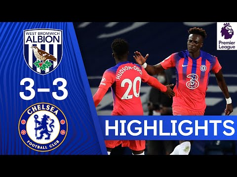 West Brom 3 3 Chelsea Tammy Abraham Grabs Late Equaliser Highlights Youtube