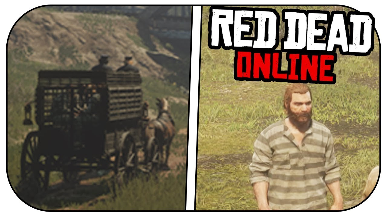 Red Dead Online - INTRO MISSION PRISON BREAK!