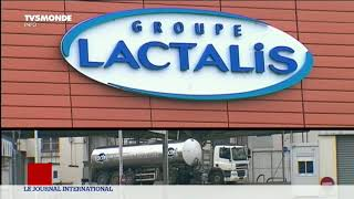 Lait contaminé: la crise va coûter des centaines de millions à Lactalis