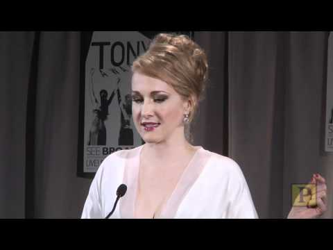 2010 Tony Winner Katie Finneran Does Her Western Screeching Owl Impression