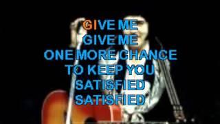 Elvis Presley - Karaoke - Always on my mind