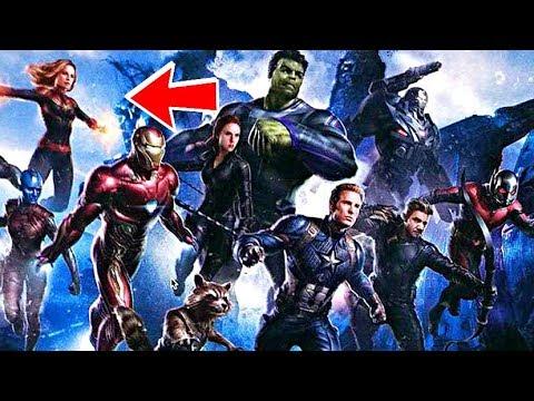 Avengers 4ten Ilk Kare Geldi Youtube