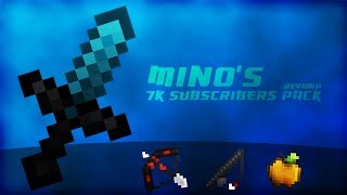 MINO 7K訂閱PVP材質包 [稍微改了些東西] || MINO 7k Subscribers PvP Pack [Revamp]