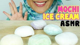 #79 Request ASMR Eating Sounds: Mochi Ice Cream || 먹방 || No Talking || ASMR Indonesia