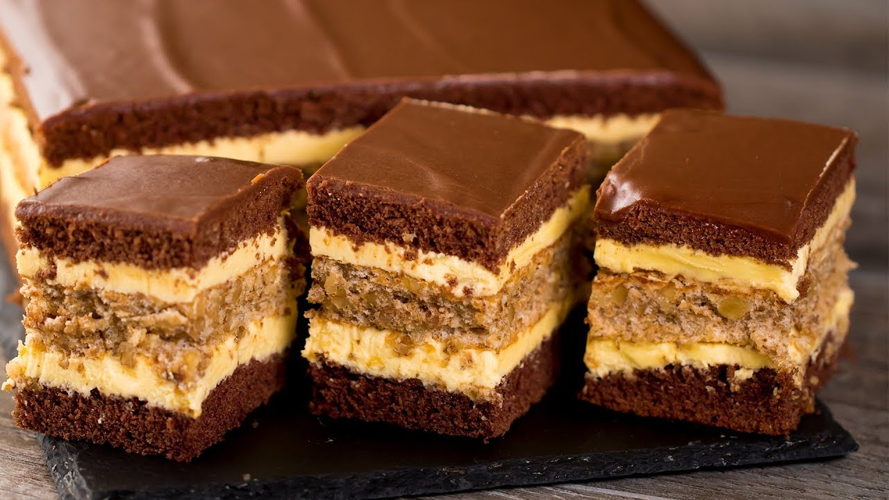 Gateau orientale facile au chocolat