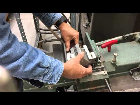 Sawing Very Thin Aluminum Angle Stock