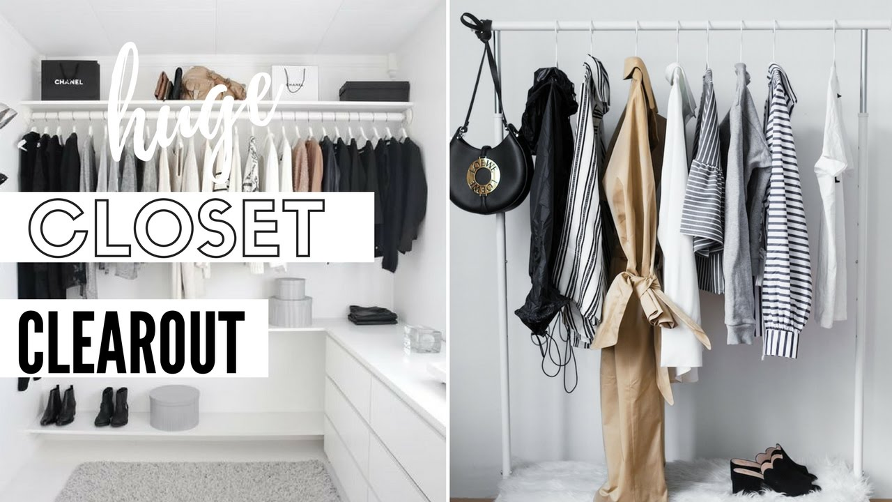 Huge Closet Clearout   Before U0026 After Closet Tour ♡ The Style Insider