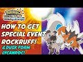 How To Get Dusk Form Lycanroc! Special Event Rockruff In Pokemon Ultra Sun And Ultra Moon!