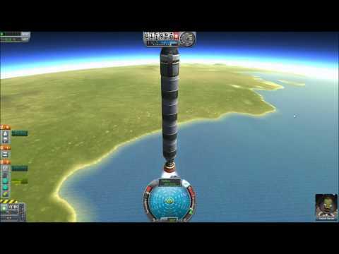 KSP Mission 1 - Sub-Orbital Flight