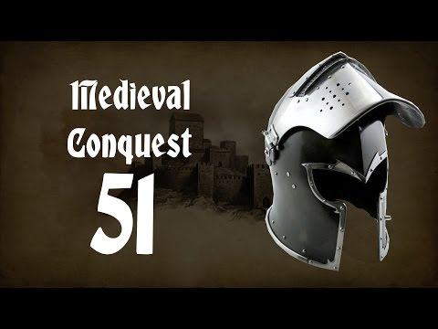 Ep. 51 - Siege of Blarney Castle - Medieval Conquest - Mount & Blade Warband Mod