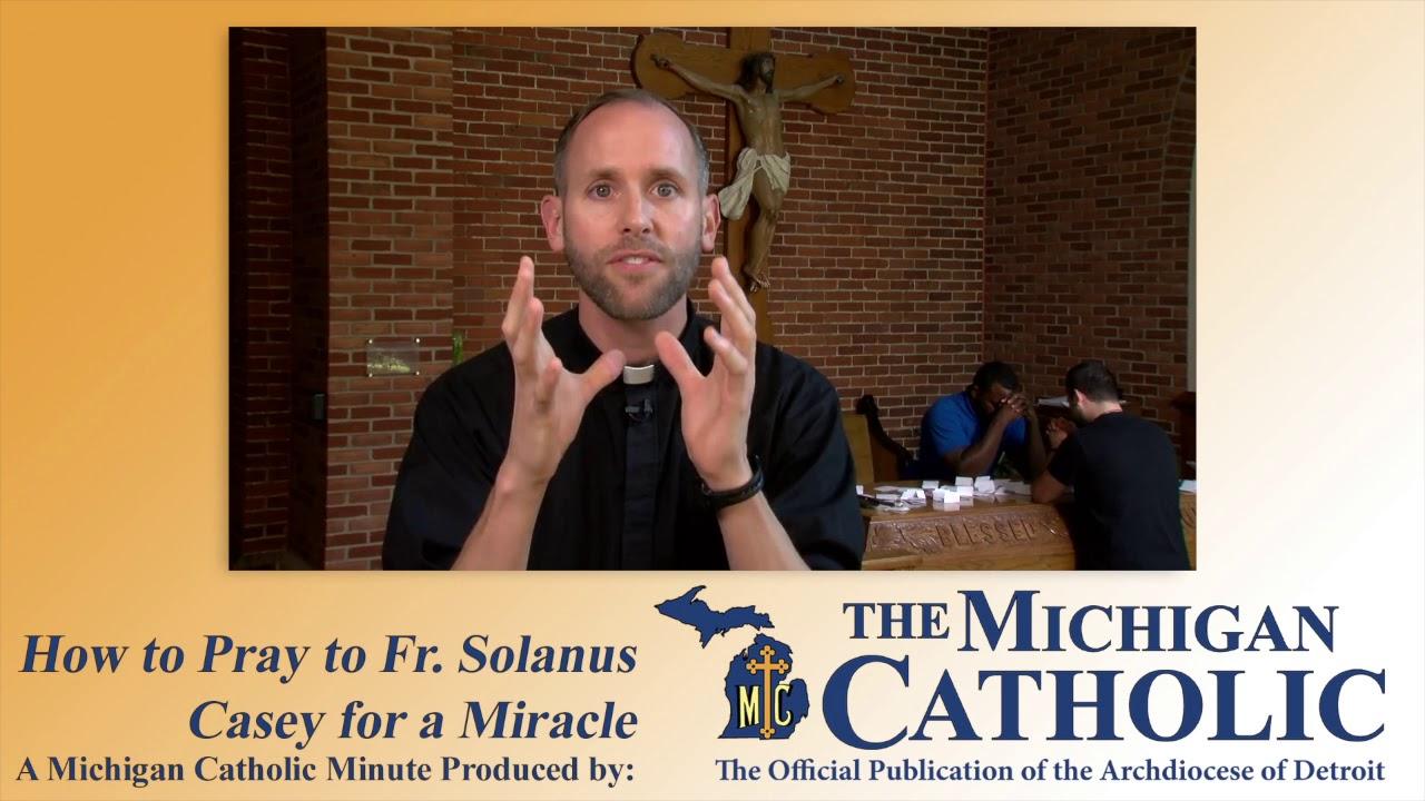 father solanus casey prayer