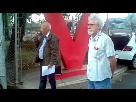 Protesto Refinaria de Manguinho  Ivan Luiz  Furtado e Companheiros