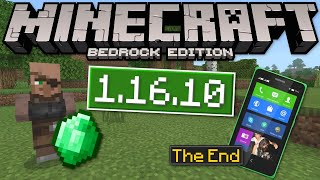 Minecraft Bedrock - 1.16.10✅ OUT NOW!Trading+Old Mobile [ Change Log ] MCPE,Xbox,PS4,Switch,Windows