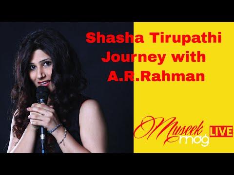 Shasha Tirupathi on her musical journey with A.R.Rahman