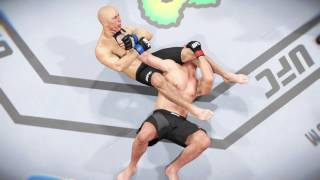 michael bisping vs george st pierre 2 weight world champ