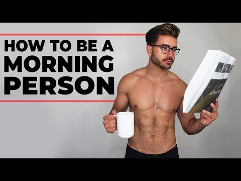 6 THINGS MEN SHOULD DO EVERY MORNING | How To Be a Morning Person | Alex Costa