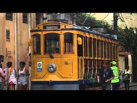 SANTA TERESA TRAM in Rio de Janeiro