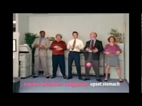 *BANNED* pepto bismol commercial