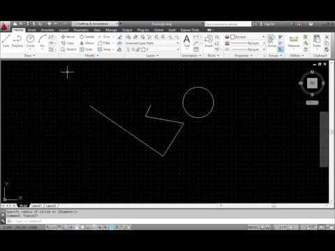 Student Video #1   CAD program interface