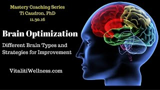 Brain Optimization   Vitaliti Mastery Coaching Series