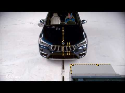 2016 Bmw X1 Crash Test And Rating Youtube