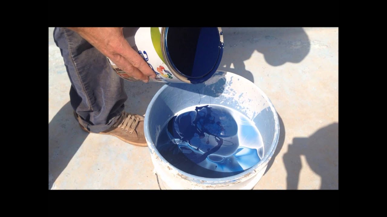 Painting & Decorating, How to paint a Swimming Pool