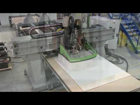 Gantry Nesting By Biesse - YouTube
