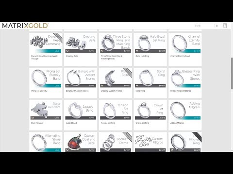 Matrixgold 3d Cad Software For Jewelry Design Gemvision