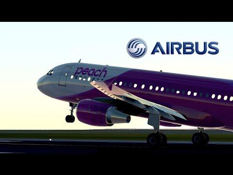 Airbus A320 : Wing Flex   Infinite Flight Global film
