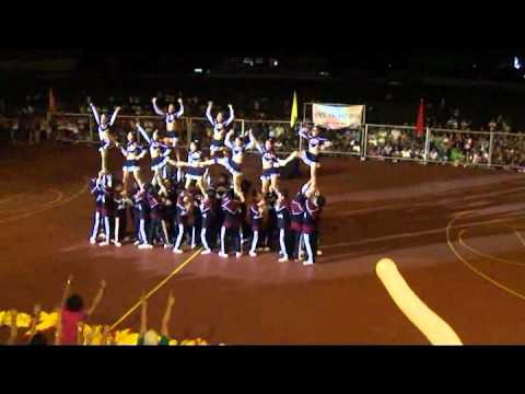 WMSU Palaro 2010 Cheerdance Competition - Hawks
