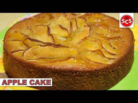 Apple Cake Without Oven - Easy Cake Recipe - Saima's Cooking Secrets